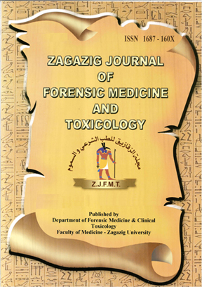 Zagazig Journal of Forensic Medicine